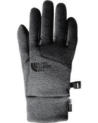 b06695075 The North Face Cryos Leather Glove in Gray for Men - Lyst
