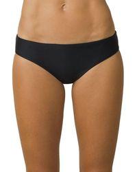 Prana Breya Bikini Bottom - Black