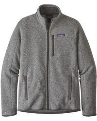 Patagonia Better Sweater Fleece Jacket - Gray