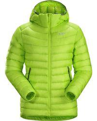 Arc'teryx Cerium Lt Hooded Down Jacket - Green