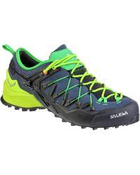 Salewa Wildfire Edge Hiking Shoe - Blue