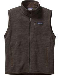 Patagonia Better Sweater Fleece Vest - Brown