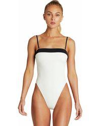 Vitamin A Dea One-piece Swim Suit - White