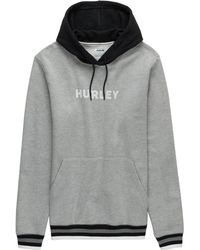 Hurley - East Coast Fleece Pullover Hoodie - Lyst