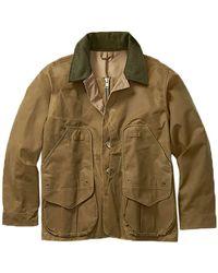 Filson - Tin Cloth Field Alaska Fit Coat - Lyst