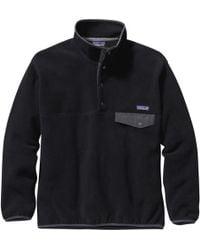 Patagonia Synchilla Snap-t Fleece Pullover - Black
