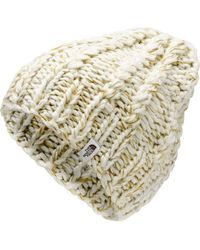 98c9fe479 The North Face Rhodinia Chunky Beanie in White for Men - Lyst