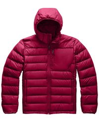 The North Face Aconcagua Hooded Jacket - Red