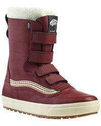 Vans Standard V Snow Boot - Red