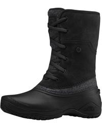 The North Face Shellista Ii Roll-down Boot - Black