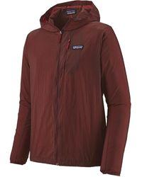Patagonia Houdini Full-zip Jacket - Red