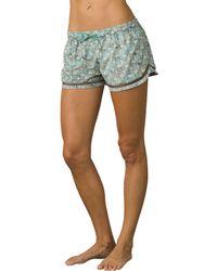 Prana Mariya Shorts (seaside Safari) Swimwear - Blue