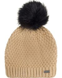 Sorel Cozy Knit Faux Fur Pom Beanie - Multicolor