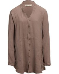 Free People Summer Daydream Button-up Shirt - Brown