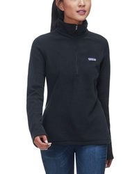 Patagonia Micro D 1/4-zip Fleece Pullover - Black