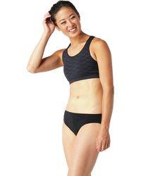 Smartwool Merino Seamless Bikini - Black