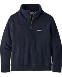 Patagonia Woolie Fleece Pullover - Blue