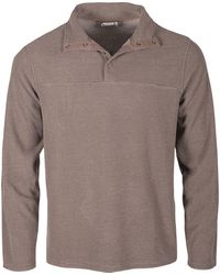 Mountain Khakis Apex Pop Top Classic Fit Pullover - Gray