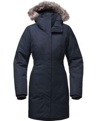 The North Face Arctic Down Parka Ii - Blue