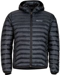 Marmot Tullus Hooded Down Jacket - Black