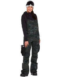 Volcom Swift Bib Overall Pant - Black