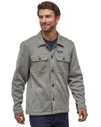 Patagonia Better Sweater Shirt Jacket - Gray