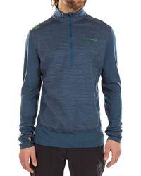 La Sportiva Rook Long-sleeve Shirt - Blue