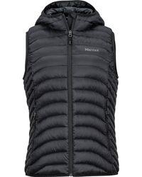 Marmot Bronco Hooded Vest - Black