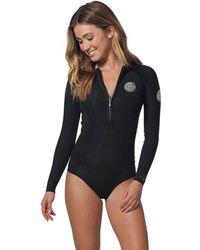 Rip Curl - G-bomb Long-sleeve Bikini Cut Spring Wetsuit - Lyst 9072d35f5