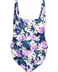 Stone Fox Sana One-piece Swimsuit - Blue