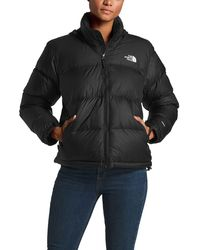 Lyst - The North Face Womens 1996 Retro Nuptse Jacket In Pink in Pink bf79c93af