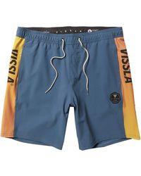 Vissla El Sporto 17.5in Ecolastic Swim Short - Blue