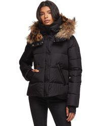 Sam. Anabelle Fur Jacket - Black
