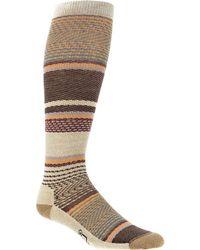 Woolrich - Stripe Knee High Sock - Lyst