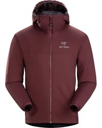 Arc'teryx Atom Lt Hooded Insulated Jacket - Red
