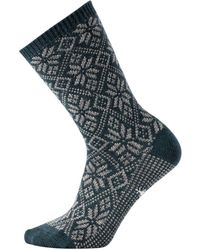 7d6ad9afaa335 Woolrich Snowflake Socks in Brown - Lyst