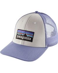 Lyst - Patagonia P-6 Lopro Trucker Hat in Green for Men 08c352166a04