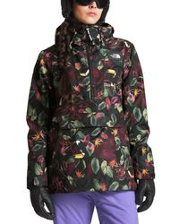 51716b15d The North Face Tanager Anorak Hooded Jacket in Purple - Lyst