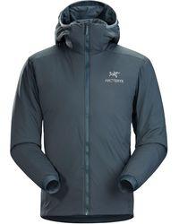 Arc'teryx Atom Lt Hooded Insulated Jacket - Blue