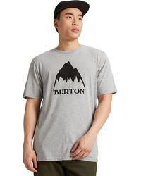 Burton Classic Mountain High T-shirt - Gray