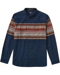 Roark Revival Cassidy Jacquard Shirt - Blue