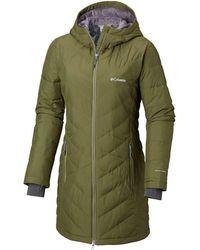 Columbia - Heavenly Long Hooded Jacket - Lyst