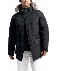The North Face Mcmurdo Hooded Down Parka Iii - Black