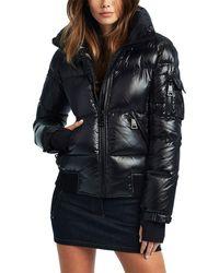 Sam. Freestyle Bomber Jacket - Black