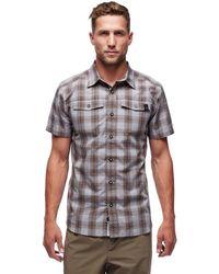Black Diamond Benchmark Short-sleeve Shirt - Gray