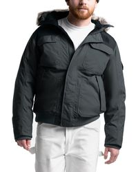 The North Face Gotham Hooded Down Jacket Iii - Black