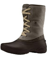 The North Face Shellista Ii Roll-down Boot - Brown