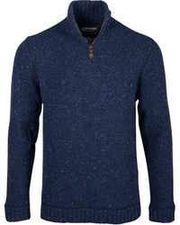 Mountain Khakis Cumberland Donegal Classic Fit Sweater - Blue