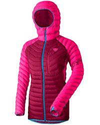 Dynafit Radical Hooded Down Jacket - Pink