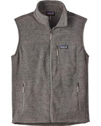 Patagonia Classic Synchilla Fleece Vest - Gray